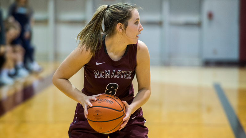 Women's Basketball: No. 3 Marauders Blow Out Thunderbirds 86-51 in Sault Ste. Marie - McMaster University Athletics